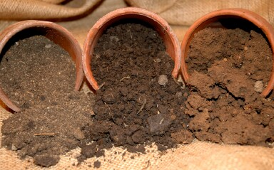 The different characteristics of garden soils for Different types of soil and their characteristics