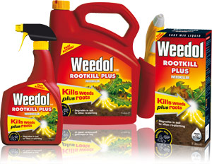 rules for chemical sprays in the garden - weed killers