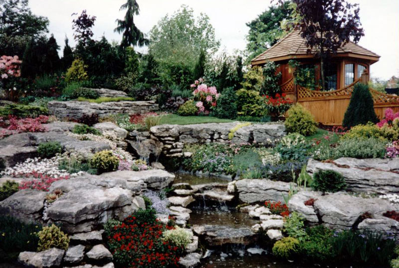 How to create interesting rockery gardens your gardening for Idea de deco garden rockery