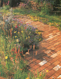 brick paving can be extremely attractive